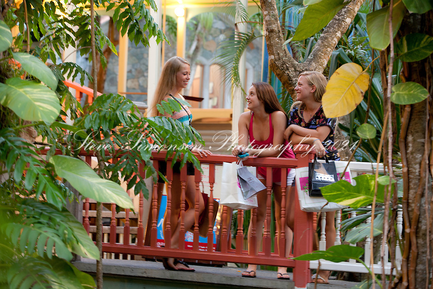 Teenage girls shopping<br />