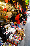 California: Chinatown San Francisco. Shopping on Grant Ave. Photo #: chinatown-san-francisco-17-casanf77791. Photo copyright Lee Foster.