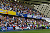 The Barry Kitchener Stand - Millwall vs Blackpool - NPower Championship Football at the New Den, London - 18/08/12 - MANDATORY CREDIT: Ray Lawrence/TGSPHOTO - Self billing applies where appropriate - 0845 094 6026 - contact@tgsphoto.co.uk - NO UNPAID USE.