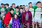 Ballydonoghue winners of the Final of the Bernard O Callaghan North Kerry Senior Football Championship, sponsored by McMunns Bar and Restaurant Ballybunion, St.Senans V Ballydonoghue  at Frank Sheehy Park, Listowel on Sunday