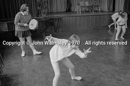 Music & Movement, Whitworth Comprehensive School, Whitworth, Lancashire.  1970.