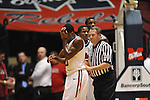Ole Miss' Nick Williams (20) walks to the bench at the C.M. &quot;Tad&quot; Smith Coliseum in Oxford, Miss. on Wednesday, January 18, 2012. (AP Photo/Oxford Eagle, Bruce Newman).