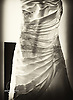 Photograph of a Wedding Dress from a Wedding at Doubletree Virginia Beach on September 25, 2010.