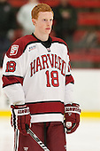 Mike Seward (Harvard - 18) - The visiting University of Massachusetts Lowell River Hawks defeated the Harvard University Crimson 5-0 on Monday, December 10, 2012, at Bright Hockey Center in Cambridge, Massachusetts.
