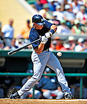11 March 2009: New York Yankees' infielder Cody Ransom in action during a Spring Training game against the Detroit Tigers at Joker Marchant Stadium in Lakeland, Florida. The Tigers defeated the Yankees 7-4 in the Grapefruit League matchup. Mandatory Photo Credit: Ed Wolfstein Photo
