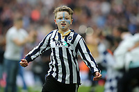 A young Millwall fan runs across the pitch at the final whistle during Bradford City vs Millwall, Sky Bet EFL League 1 Play-Off Final at Wembley Stadium on 20th May 2017
