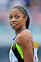 Allyson Felix (USA),.MAY 6,2012 - Athletics : The Seiko Golden Grand Prix in Kawasaki, IAAF World Challenge Meetings ,Women's 100m final at Todoroki Stadium, Kanagawa, Japan. (Photo by Jun Tsukida/AFLO SPORT) [0003] .