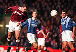 David Weir scoring for Hearts against rangers, League Cup Final 1996