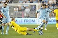Sporting Kansas City vs Columbus Crew September 28 2011