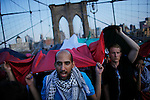 NEWS- Pro-palestine Rally across de Brooklyn Bridge