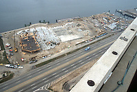 1982 May 28..Redevelopment.Downtown South (R-9)..WATERSIDE.CONSTRUCTION PROGRESS...NEG#.NRHA#..