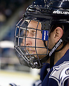 Mike Sislo (UNH - 19) - The visiting University of New Hampshire Wildcats defeated the University of Massachusetts-Lowell River Hawks 3-0 on Thursday, December 2, 2010, at Tsongas Arena in Lowell, Massachusetts.