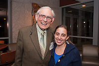 Alumni Executive Committee Reception. Marshall London, M.D., Tamar Goldberg, class of 2015.