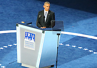 PHILADELPHIA, PA - JULY 27: President Obama pictured at The 2016 Democratic National Convention day 3 at The Wells Fargo Center in Philadelphia, Pennsylvania on July 27, 2016. Credit: Star Shooter/MediaPunch