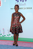CULVER CITY, CA - SEPTEMBER 24: Marsai Martin attends the Step2 & Favored.by Present The 5th Annual Red Carpet Safety Awareness Event at Sony Pictures Studios on September 24, 2016 in Culver City, California. (Credit: Parisa Afsahi/MediaPunch).