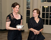Randi Weingarten, President, American Federation of Teachers and Louise Anne Rogers arrive for the Official Dinner in honor of Prime Minister David Cameron of Great Britain and his wife, Samantha, at the White House in Washington, D.C. on Tuesday, March 14, 2012..Credit: Ron Sachs / CNP.(RESTRICTION: NO New York or New Jersey Newspapers or newspapers within a 75 mile radius of New York City)