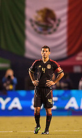 Mexico national team defender & Captain Rafael Marquez (4). The national teams of Mexico and Venezuela played to a 1-1 draw in an International friendly match at  Qualcomm stadium in San Diego, California on  March 29, 2011...
