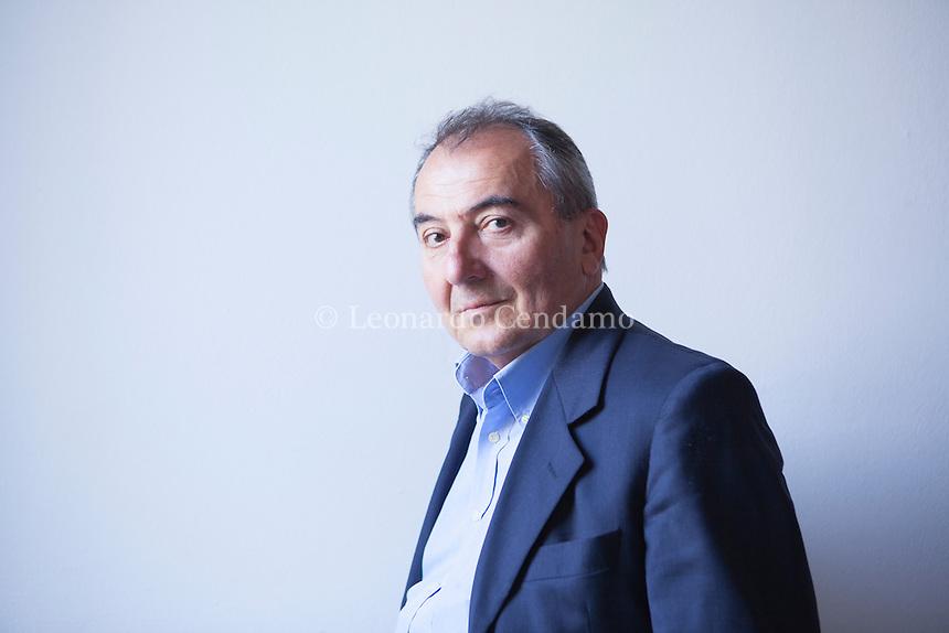 Giorgio Boatti, italian writer and jornalist. Scrittore e jornalista italiano. Mantova, settembre 2014. Festivaletteratura. © Leonardo Cendamo