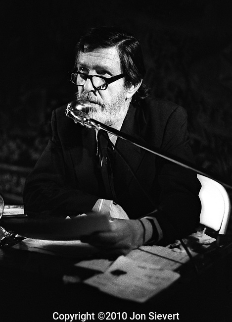 John Cage, 5/21/71, DeYoung Museum, San Francisco