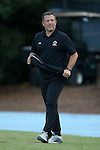 23 September 2016: Boston College assistant coach Jeff Negalha. The University of North Carolina Tar Heels hosted the Boston College Eagles in Chapel Hill, North Carolina in a 2016 NCAA Division I Men's Soccer match. UNC won the game 5-0.