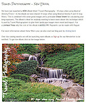 eBook - 10 Tips for using Neutral Density Filters<br /> <br /> To download and view all our other eBooks visit this link - http://www.widescenes.com/e-books.html