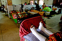 24 year old Salma Begum broke both her legs after jumping from the fourth floor trying to escape the blaze at the factory. She is being treated at a local hospital. At least 112 people died, and more than 100 were injured at a fire at the Tazreen Fashions textile factory in Dhaka. Bangladesh's garment industry has a notoriously bad fire safety record; if the right precautions had been taken, the fire could have been prevented.