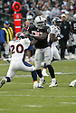 THOMAS HOWARD, of the Oakland Raiders  in action during the Raiders game against the  Denver Broncos on December 2, 2007 in Oakland, California...RAIDERS  win 34-20..SportPics