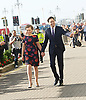 Labour Party Annual Conference 2013 <br /> at the Brighton Centre, Brighton, East Sussex, Great Britain <br /> <br /> 24th September 2013<br /> <br /> <br /> Ed Miliband and Justine Thornton <br /> arriving before speech <br /> <br /> Photograph by Elliott Franks <br /> contact:<br /> Tel: 07802 537 220 <br /> email: elliott@elliottfranks.com<br /> www.elliottfranks.com<br /> <br /> Agency space rates apply <br /> editorial use only <br /> 2013 &copy; Elliott Franks