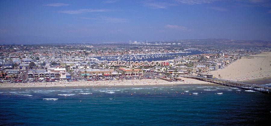 Newport Beach, CA Aerial, Corona Del Mar, Newport  Bay, View, Coast, Waterfront, Luxury Home's Cliffs,