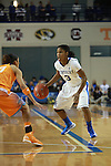 UK guard Janee Thompson dribbles the ball at during the first half of the UK Hoops vs. Tennessee at Memorial Coliseum in Lexington, Ky., on Sunday, March 3, 2013. Photo by Emily Wuetcher | Staff....