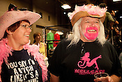 Fans of Hellcats during their bout against Putas del Fuego at the Palmer Events Center in Austin, Texas.