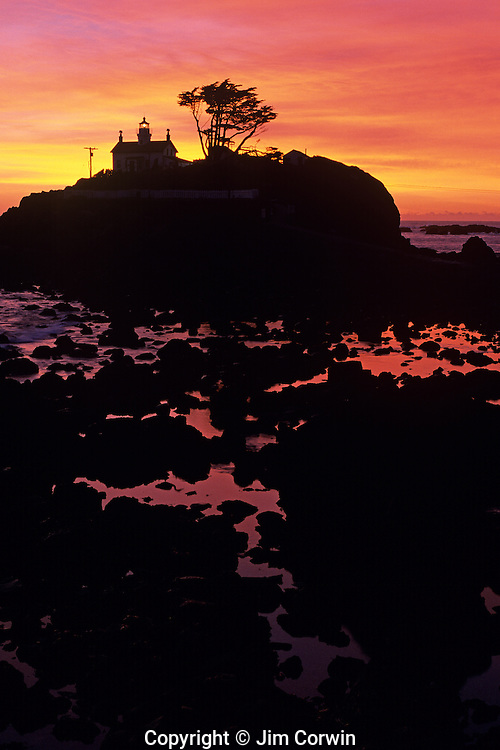 Lighthouses along the California Coastline