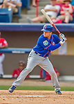 3 March 2016: New York Mets infielder Danny Muno in action during a Spring Training pre-season game against the Washington Nationals at Space Coast Stadium in Viera, Florida. The Mets fell to the Nationals 9-4 in Grapefruit League play. Mandatory Credit: Ed Wolfstein Photo *** RAW (NEF) Image File Available ***
