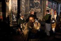 street scene, peshawar bazaar