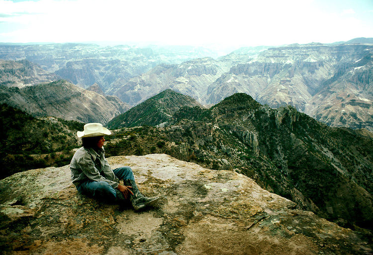 "Mexico: ""Grand Canyon""..Unique branch of Copper Canyons near Creel,  Tarahumara Indian tribe, Barranca del Cobre, Sierra Madre Occidental.Photo copyright Lee Foster, www.fostertravel.com. .Photo #: mxtara102, 510/549-2202, lee@fostertravel.com"