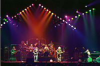 The Grateful Dead performing &quot;Standing on the Moon&quot; at the Nassau Coliseum, Uniondale NY, 30 March 1990. Wide Lighting Look Image Capture.