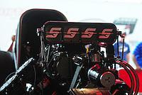 May 5, 2012; Commerce, GA, USA: NHRA funny car driver Cruz Pedregon during qualifying for the Southern Nationals at Atlanta Dragway. Mandatory Credit: Mark J. Rebilas-