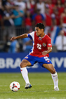 Costa Rica forward Jairo Arrieta Ovando (22). The United States defeated Costa Rica 1-0 during a CONCACAF Gold Cup group B match at Rentschler Field in East Hartford, CT, on July 16, 2013.