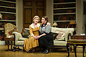 Bath, UK. 17.06.2013. RELATIVE VALUES, by Noel Coward, opens the 2013 summer season at the Theatre Royal Bath. Picture shows: Patricia Hodge (Felicity, Countess of Marshwood) and Caroline Quentin (Moxie, the housemaid). Photograph © Jane Hobson.