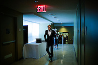 American actor Robert Redford arrives to meet U.N. Secretary-General Ban Ki-moon before his address on climate change at U.N. headquarters in New York.  06/29/2015. Eduardo MunozAlvarez/VIEWpress