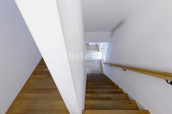 stairwell inside public building Amsterdam
