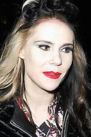 Kate Nash spotted arriving at Somerset House London on 15 February for the PPQ event which was part of London Fashion Week  Autumn Winter 2013 Show. Paparazzi Photos