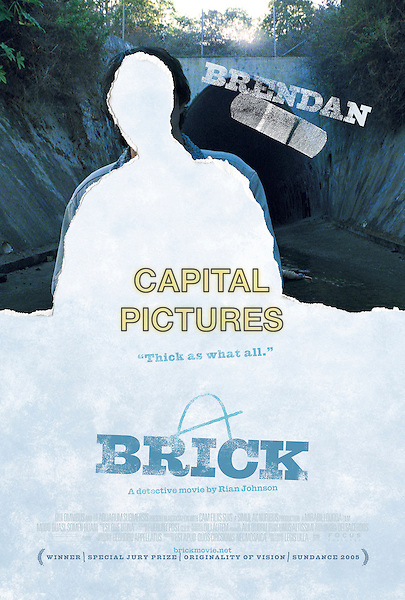 POSTER.in Brick.Filmstill - Editorial Use Only.CAP/AWFF.www.capitalpictures.com.sales@capitalpictures.com.Supplied By Capital Pictures.