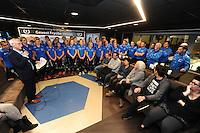 SCHAATSEN: HEERENVEEN: 20-12-2016, IJsstadion Thialf, Ploegenpresentatie schaatsers Gewest Fryslân, , ©foto Martin de Jong
