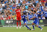 Julian de Guzman...Kansas City Wizards defeated Toronto FC 1-0 at Community America Ballpark, Kansas City, Kansas.