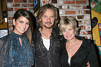 "Shelley Hennig, Stephen Nichols, and Mary Beth Evans at the ""Day of Days""  Days of our Lives Event at City Walk at Universal Studios in Los Angeles, CA on .November 1, 2008.©2008 Kathy Hutchins / Hutchins Photo...                . ."