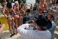 Miss Bikini Hungary beauty contest held in Budapest, Hungary on August 06, 2011. ATTILA VOLGYI