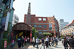 The square kiln chimney is a landmark of Yingge Ceramics Old Street