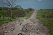 2012 Fracking Roads in Texas