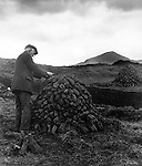 Peasant in Galway, near Recess 1940s